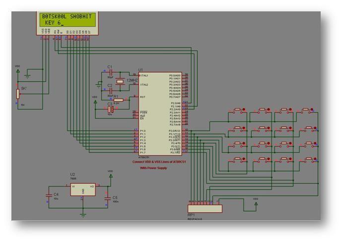 LCD Keypad simulation