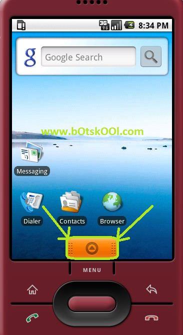Android SDK 1.5 Emulator