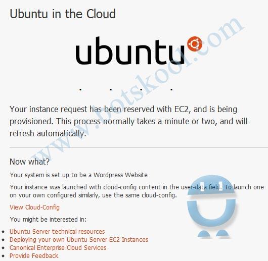 Ubuntu in the cloud