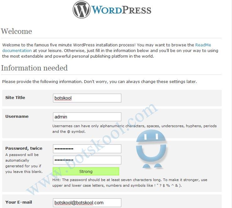 Ubuntu 10.10 server + Wordpress