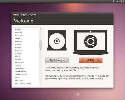Ubuntu 10.10 OS Installer