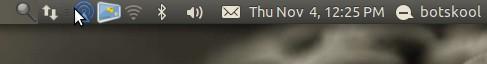 ubuntu bluetooth file recieve indicator