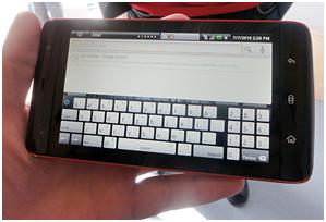 Dell Streak Keyboard