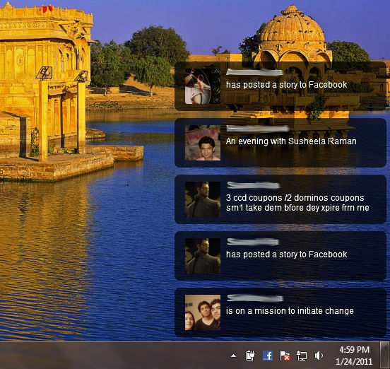 facebook desktop software notification