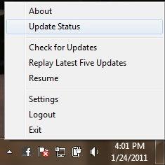 facebook desktop right click options