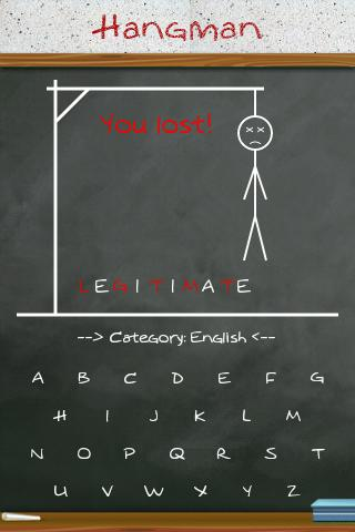 hangman for android