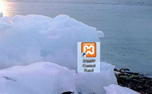 XAMPP Control Panel desktop shortcut
