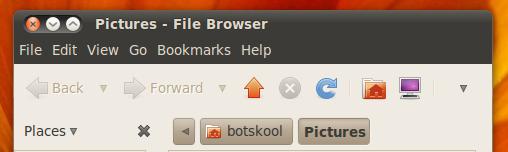 ubuntu 10.04 default button layout