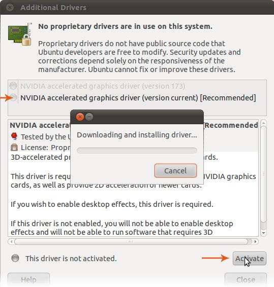 nvidia driver for ubuntu