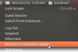 nvidia driver for ubuntu restart your system