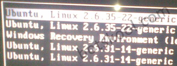 ubuntu password recovery