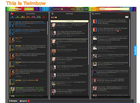 twimbow colourful dashboard