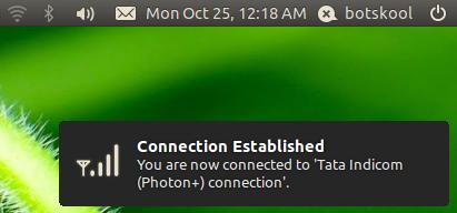 ubuntu tata photon plus
