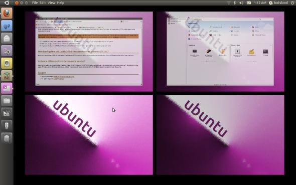 unity on ubuntu 10.10 desktop screenshot