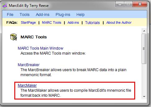 MarcMaker